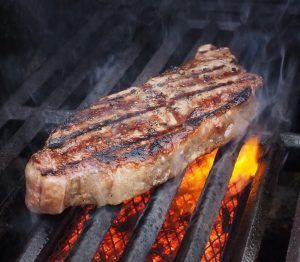Grilling-a -steak